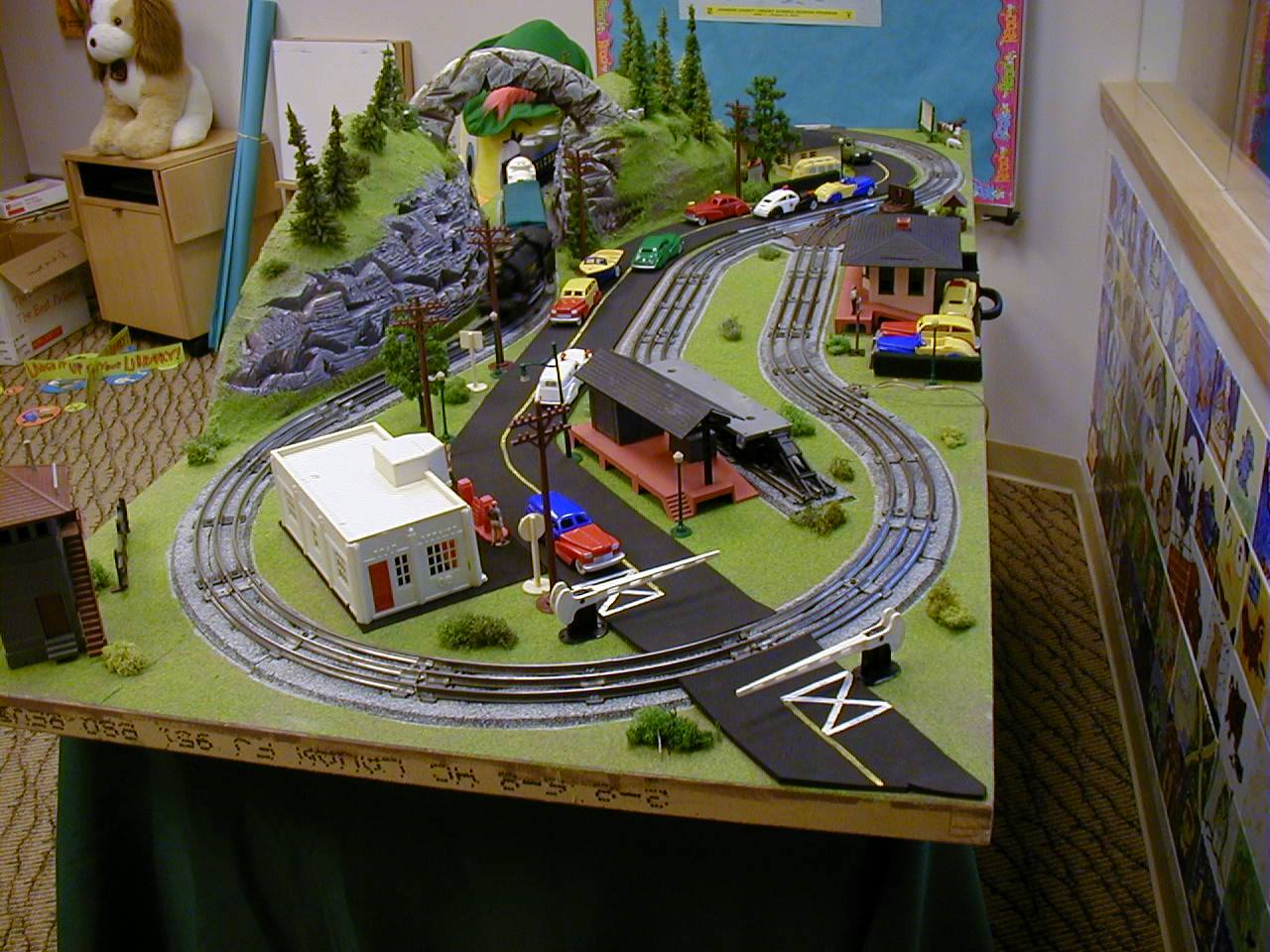 O gauge layout