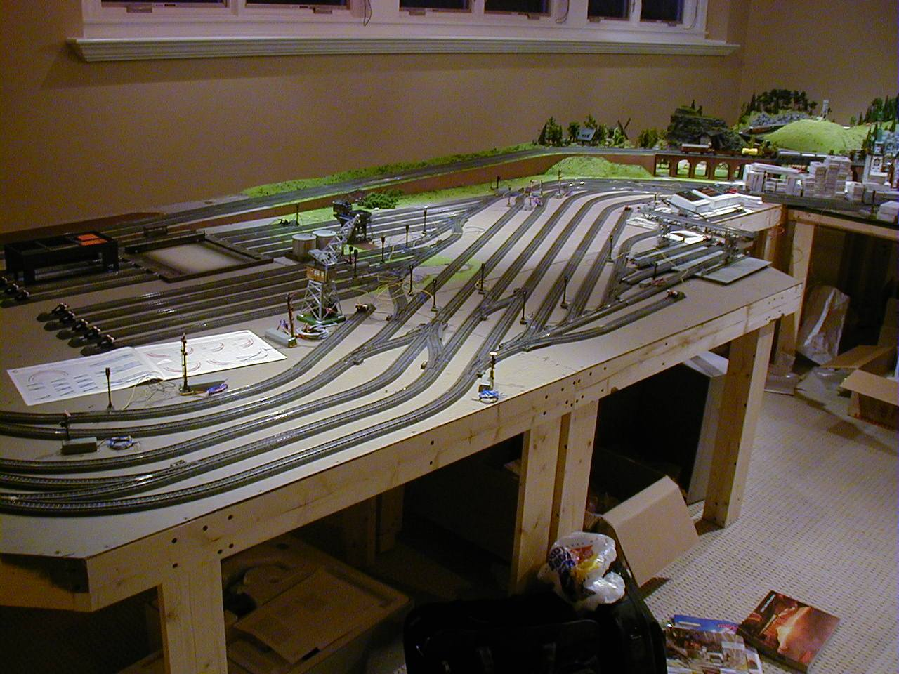 HO gauge layout